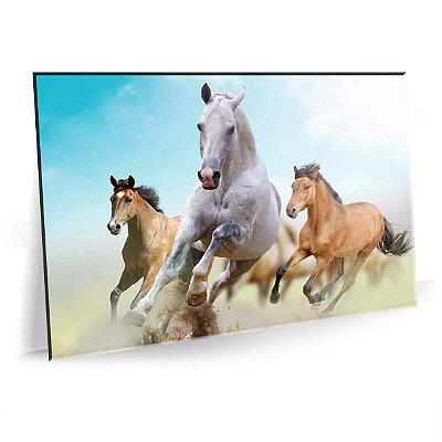 Quadro Cavalos Selvagens Tela Decorativa