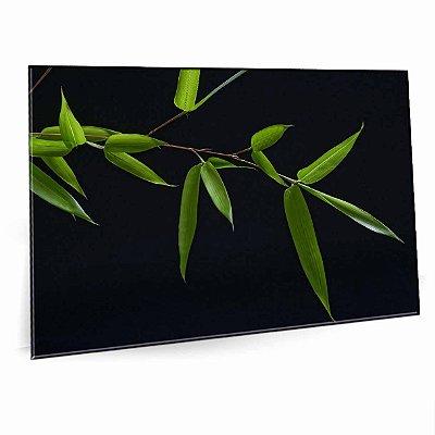 Quadro Folha Bambu Tela Decorativa