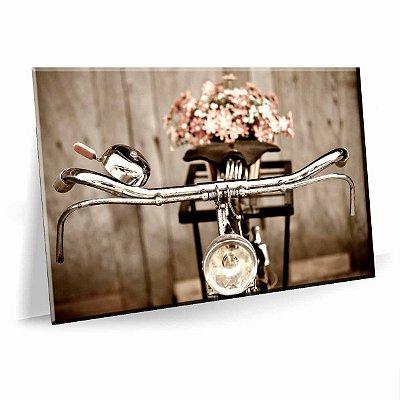 Quadro Bicicleta Retro Tela Decorativa