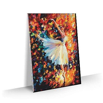 Quadro Pintura Bailarina Tela Decorativa