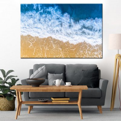 Quadro Canvas Oceano Azul