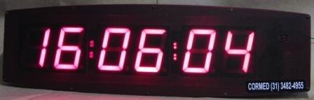 TIMER CRONOMETRO DIGITAL CROSSFIT + RELÓGIO (LUTAS / TREINO INTERVALADO / CIRCUITO)