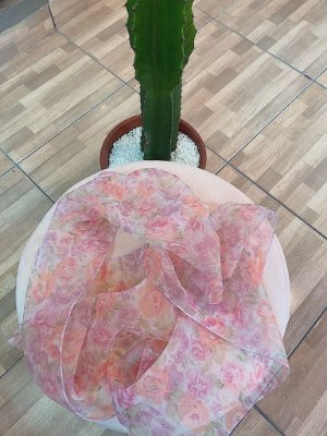 Lenço flowers
