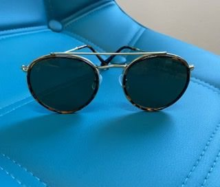 Óculos aviador tartaruga