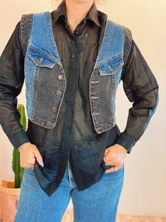 Colete Jeans vintage