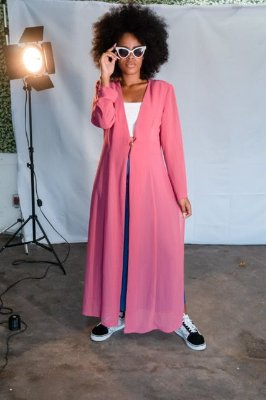 Maxi Kimono Rosinha