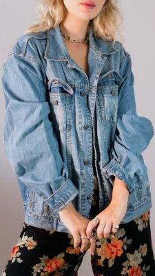 Jaqueta jeans Alain (GG)