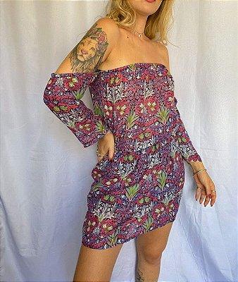 Vestido Ciganinha Florido