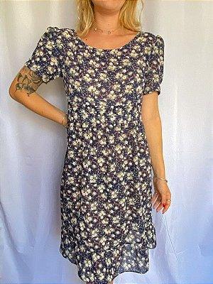 Vestido Floral Azul (P/M)