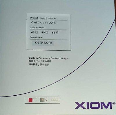 Borracha Xiom Omega VII Tour i - 55º graus  Custom Program / Contract Player
