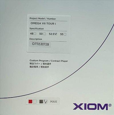 Borracha Xiom Omega VII Tour i - 52,5º graus  Custom Program / Contract Player
