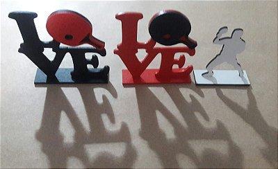 Enfeite de mesa Love miniatura