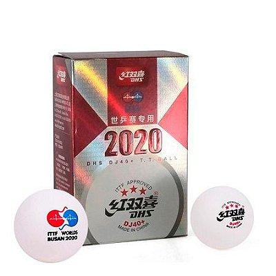 Kit com 6 Bolas 3 estrelas DJ40+  2020