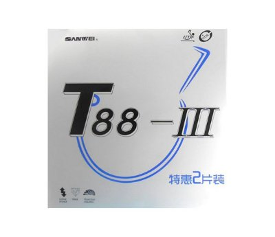 Borracha Sanwei T88 III - kit com 2 borrachas
