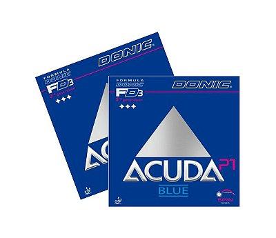Kit 2 Borrachas Donic Acuda P1 Blue