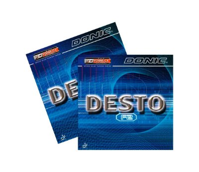 Kit 2 Borrachas Donic Desto F2
