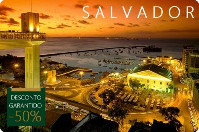 SALVADOR - Hotel + Traslados + City Tour
