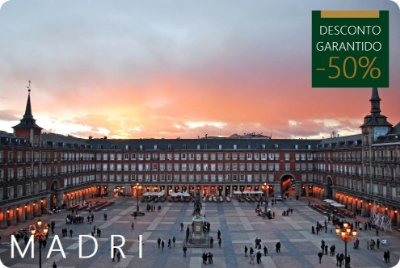 MADRI - Hotel + Traslados + City Tour
