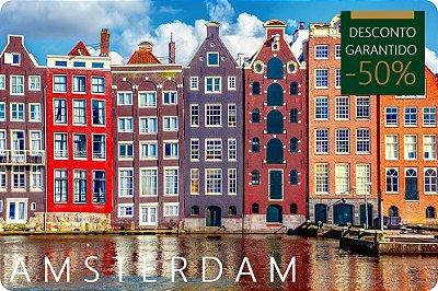 AMSTERDAM - Hotel + Traslados + Passeio