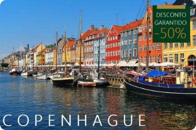 COPENHAGUE - Hotel + Traslados + Passeio
