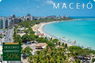 MACEIÓ - Hotel + Traslados + City Tour