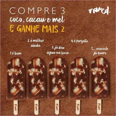 COMPRE 3 E GANHE MAIS 2 - COCO,CACAU E MEL
