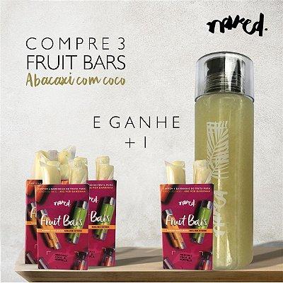 COMPRE 3 E GANHE 1 - FRUIT BAR ABACAXI, COCO E HORTELÃ