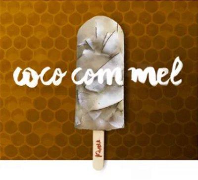 COCO COM MEL - Ingredientes: Água de Coco, Coco e Mel