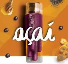 FRUIT BAR - AÇAÍ, BANANA, MEL, CHIA (pack 4)