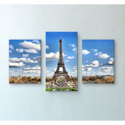Quadro Canvas Decorativos - Paris