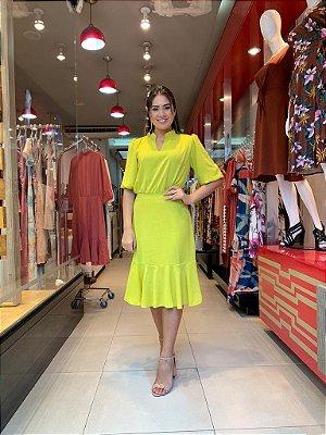 Vestido Silveria Amarelo