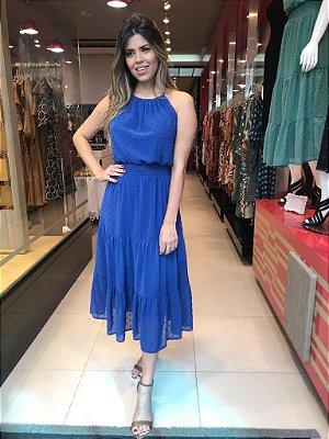 Vestido Silviana Azul