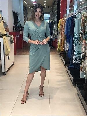 Vestido Sofia Musgo