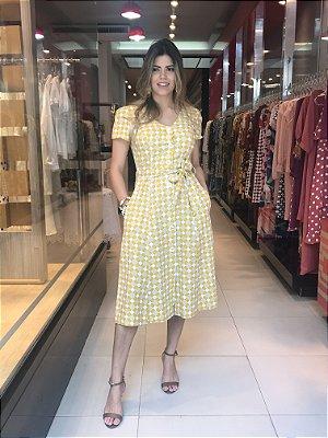 Vestido Sassia Amarelo
