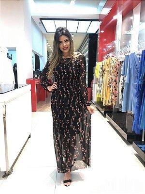 Vestido Taciana Preto