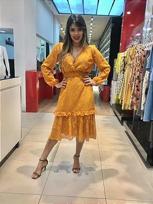 Vestido Solange Amarelo