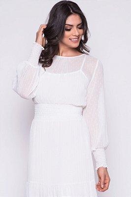 Vestido Talita Branco