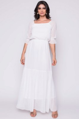 Vestido Stella Branco