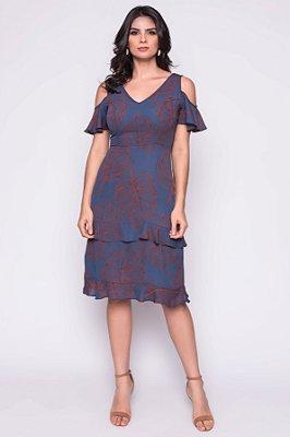 Vestido Senia Azul