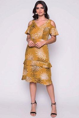 Vestido Senia Amarelo