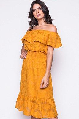 Vestido Sol Amarelo