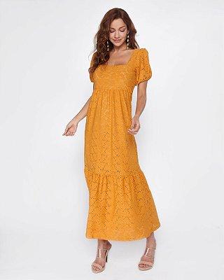Vestido Valiana Amarelo