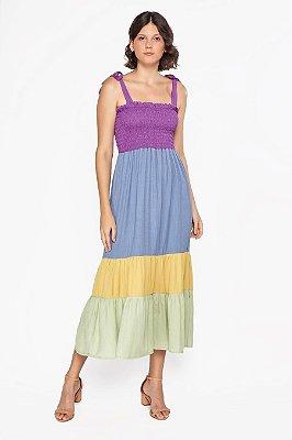 Vestido Vanda Roxo