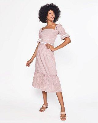 Vestido Verdiana Rosa