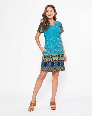 Vestido Yasmin Petróleo