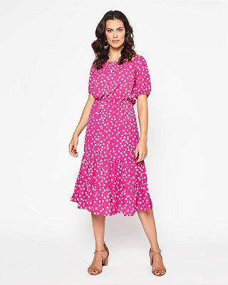 Vestido Zeferina Rosa