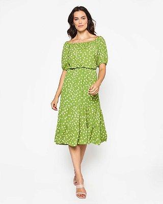 Vestido Zeferina Verde