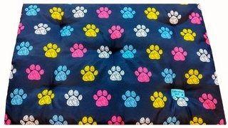 Colchonete Retangular Cachorro  0,65x0,45 Tamanho P Colorido