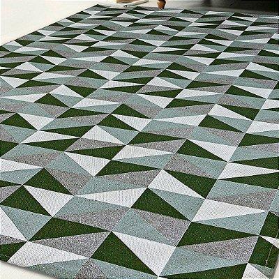 Tapete Antiderrapante 1,35m X 2,00m Verde Dallas
