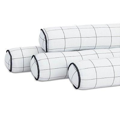 Kit 04 Rolinhos Para Berço Americano Moderninhos Grid